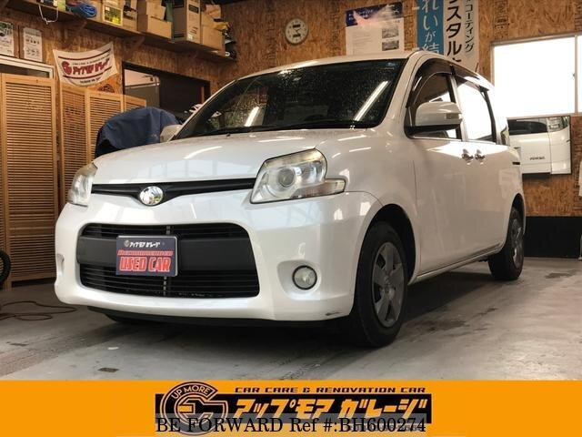 Used 2011 TOYOTA SIENTA BH600274 for Sale