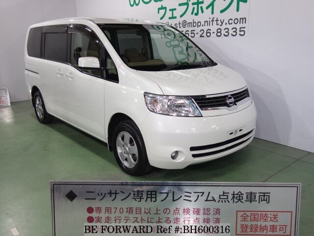 Used 2005 NISSAN SERENA BH600316 for Sale