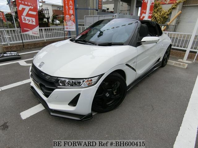 Used 2015 HONDA S660 BH600415 for Sale