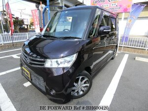 Used 2010 NISSAN ROOX BH600420 for Sale