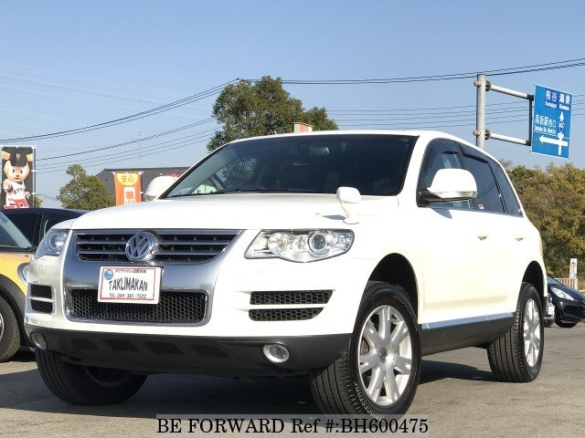 Used 2008 VOLKSWAGEN TOUAREG BH600475 for Sale