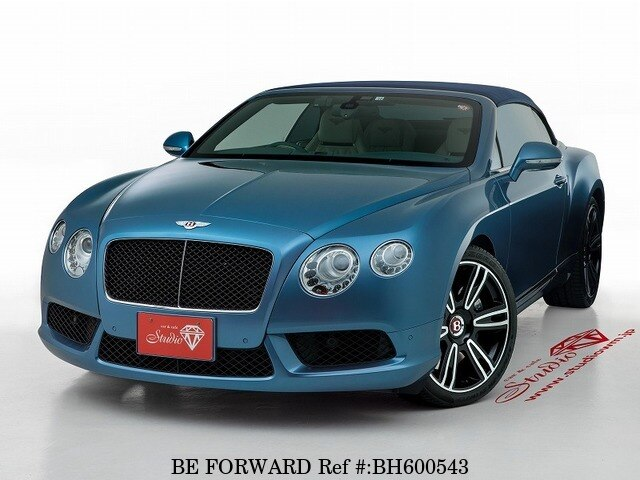Used 2014 BENTLEY CONTINENTAL GTC BH600543 for Sale
