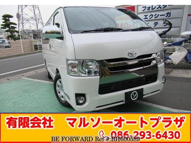 Used 2019 TOYOTA HIACE VAN BH600589 for Sale
