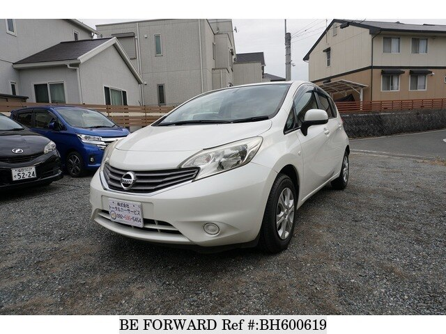 Used 2013 NISSAN NOTE BH600619 for Sale