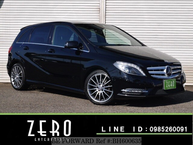 Used 2012 MERCEDES-BENZ B-CLASS BH600635 for Sale