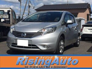Used 2013 NISSAN NOTE BH600667 for Sale