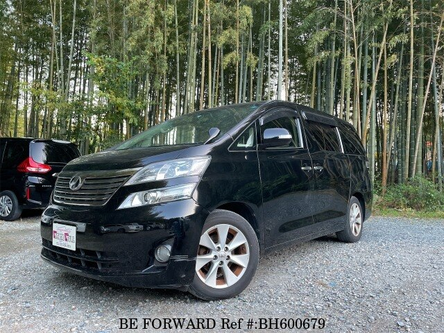 Used 2009 TOYOTA VELLFIRE BH600679 for Sale