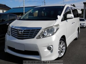 Used 2008 TOYOTA ALPHARD BH600688 for Sale