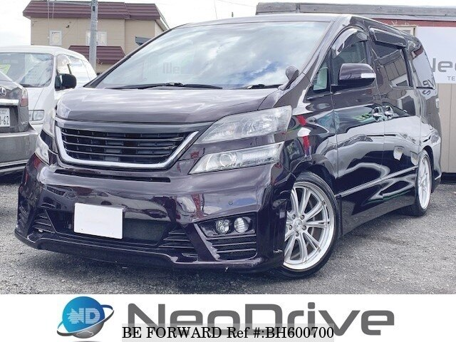 Used 2009 TOYOTA VELLFIRE BH600700 for Sale