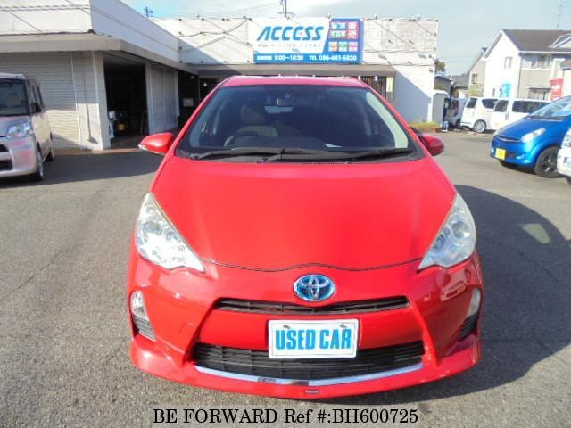 Used 2013 TOYOTA AQUA BH600725 for Sale