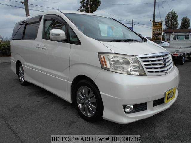 Used 2004 TOYOTA ALPHARD BH600736 for Sale