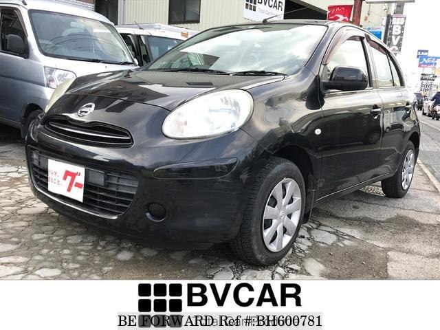 Used 2011 NISSAN MARCH BH600781 for Sale