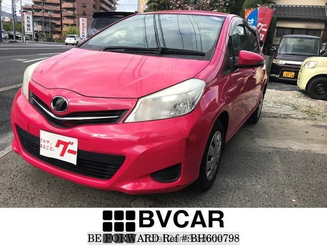 Used 2011 TOYOTA VITZ BH600798 for Sale