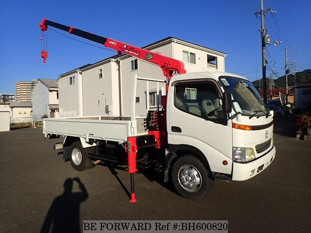 Used 2002 TOYOTA DYNA TRUCK BH600820 for Sale