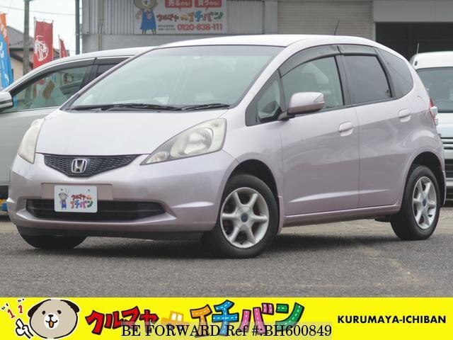 Used 2009 HONDA FIT BH600849 for Sale