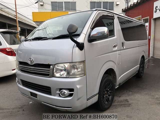 Used 2007 TOYOTA HIACE VAN BH600870 for Sale