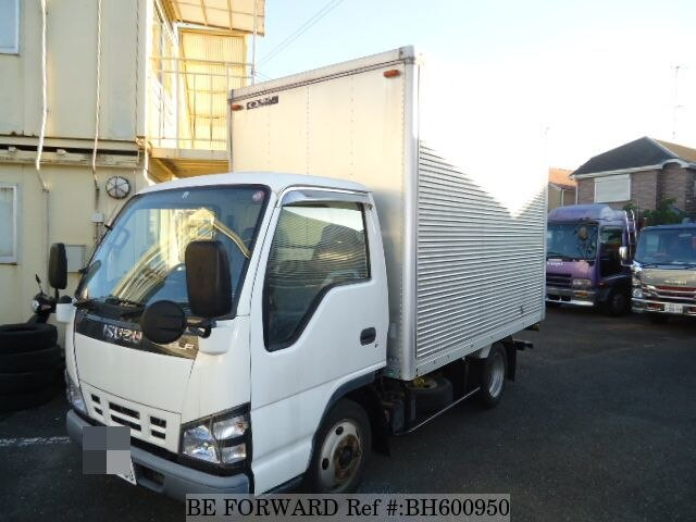 Used 2006 ISUZU ELF VAN BH600950 for Sale