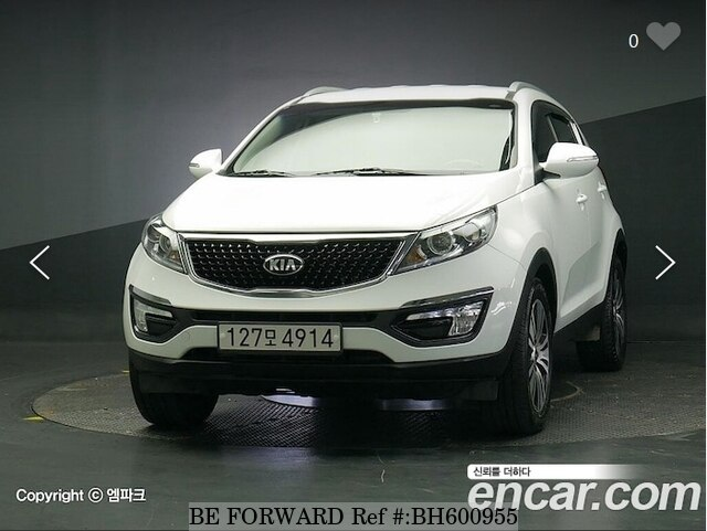 Used 2015 KIA SPORTAGE BH600955 for Sale