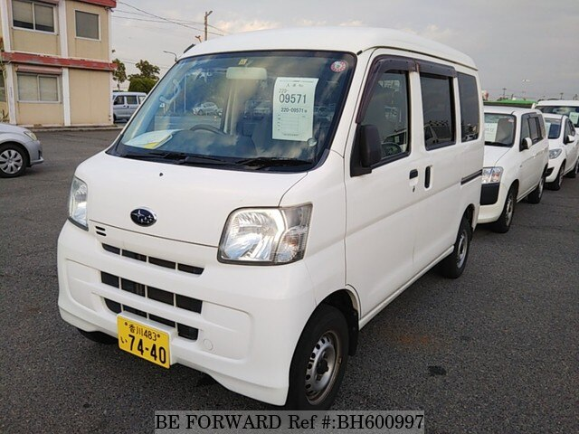Used 2013 SUBARU SAMBAR BH600997 for Sale
