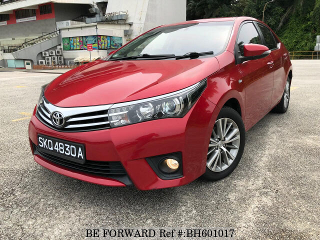 Used 2014 TOYOTA COROLLA ALTIS BH601017 for Sale