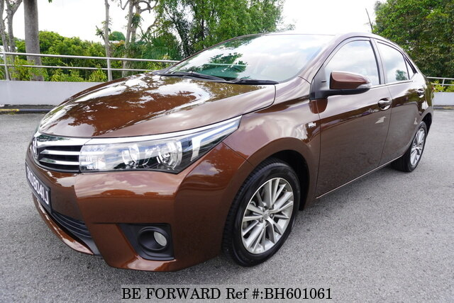Used 2014 TOYOTA COROLLA ALTIS BH601061 for Sale