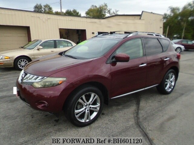 Used 2009 NISSAN MURANO BH601120 for Sale