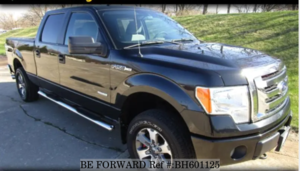 Used 2011 FORD F150 BH601125 for Sale