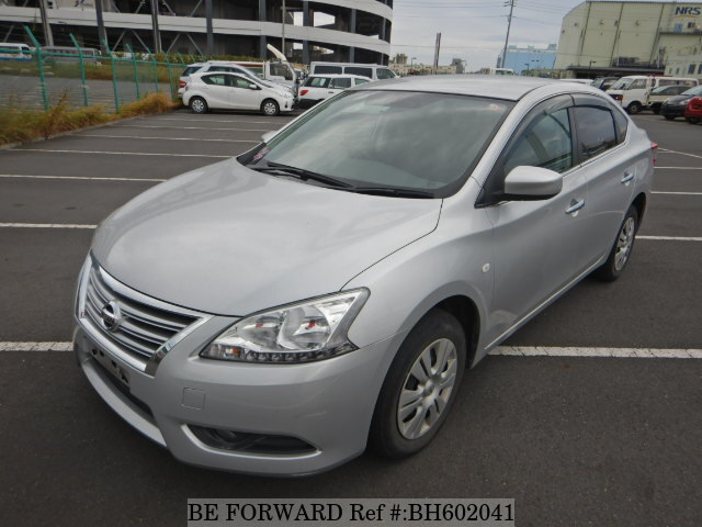 Used 2015 NISSAN SYLPHY BH602041 for Sale