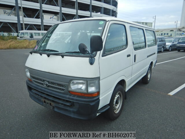 Used 2003 TOYOTA HIACE VAN BH602073 for Sale