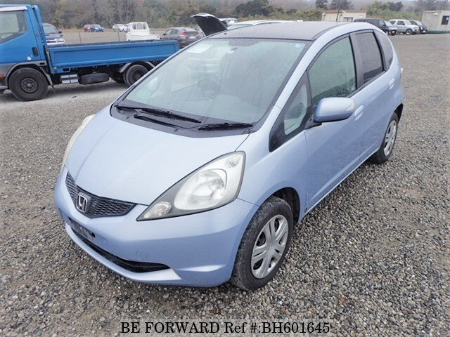 Used 2007 HONDA FIT BH601645 for Sale
