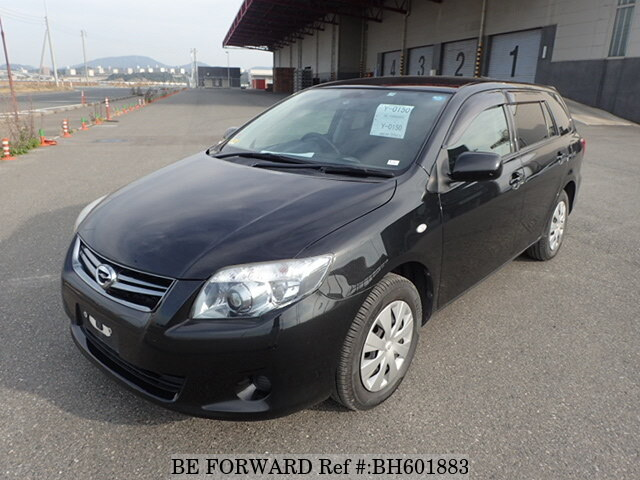 Used 2011 TOYOTA COROLLA FIELDER BH601883 for Sale