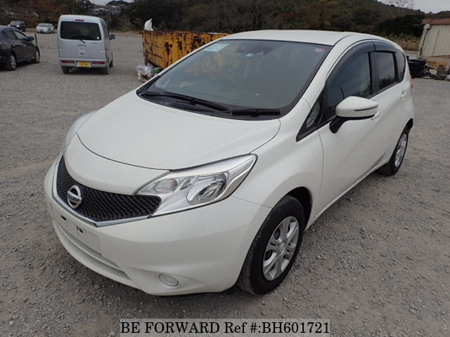 Used 2015 NISSAN NOTE BH601721 for Sale