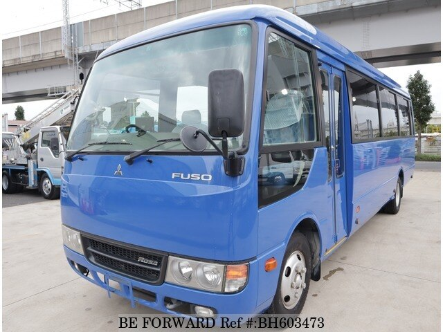 Used 2015 MITSUBISHI FUSO ROSA BUS BH603473 for Sale