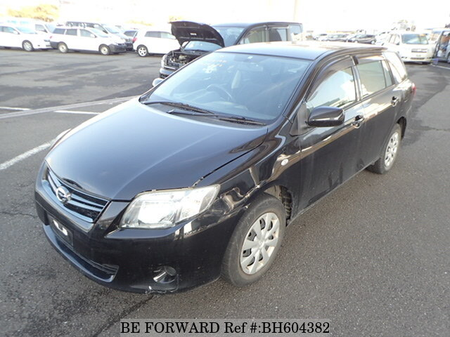 Used 2011 TOYOTA COROLLA FIELDER BH604382 for Sale