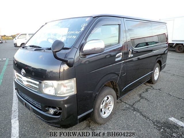 Used 2006 TOYOTA HIACE VAN BH604228 for Sale