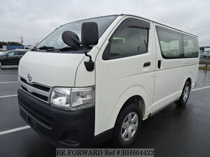 Used 2012 TOYOTA HIACE VAN BH604422 for Sale
