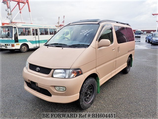 Used 1997 TOYOTA REGIUS WAGON BH604451 for Sale