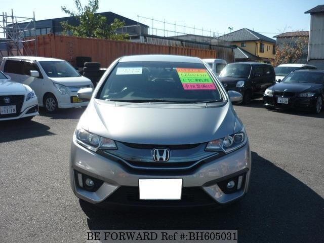 Used 2014 HONDA FIT HYBRID BH605031 for Sale