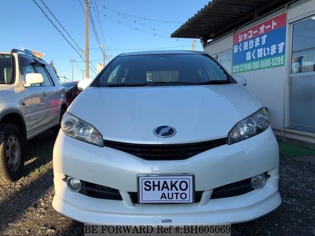 Used 2010 TOYOTA WISH BH605069 for Sale