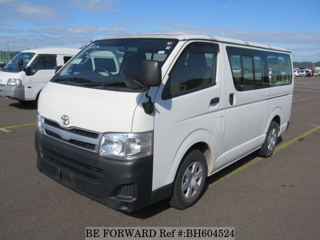 Used 2012 TOYOTA HIACE VAN BH604524 for Sale
