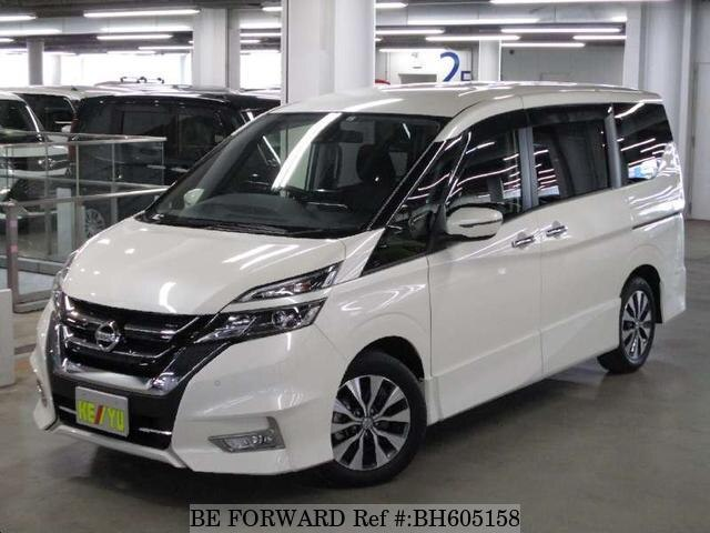 Used 2017 NISSAN SERENA BH605158 for Sale