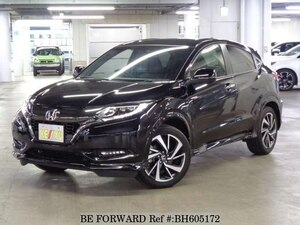Used 2017 HONDA VEZEL BH605172 for Sale