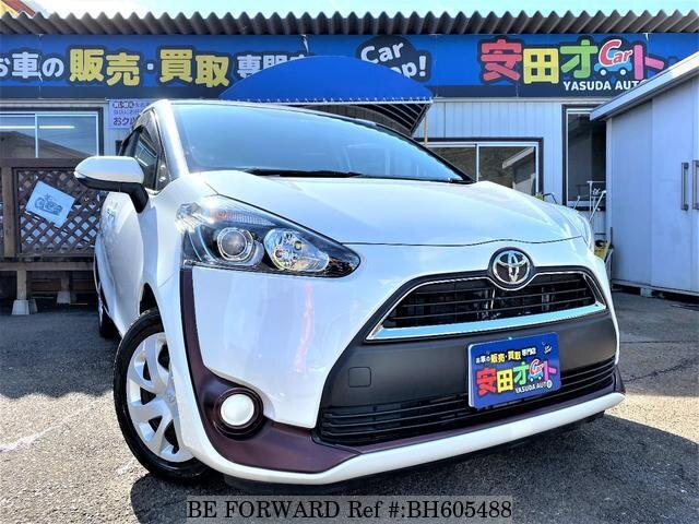Used 2016 TOYOTA SIENTA BH605488 for Sale
