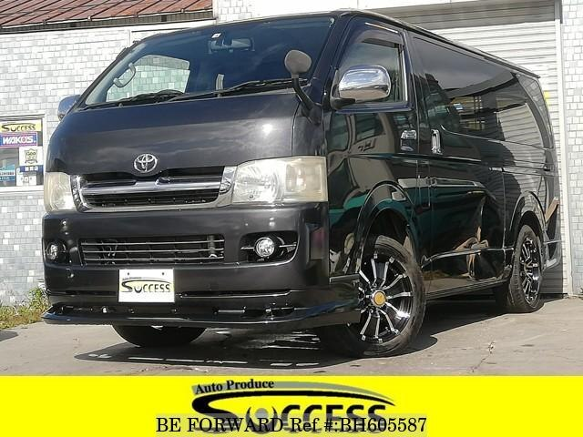 Used 2006 TOYOTA HIACE VAN BH605587 for Sale