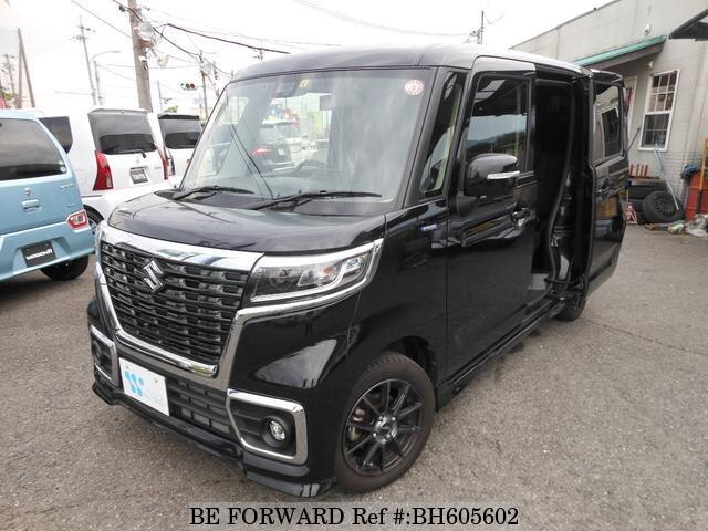 Used 2019 SUZUKI SPACIA BH605602 for Sale