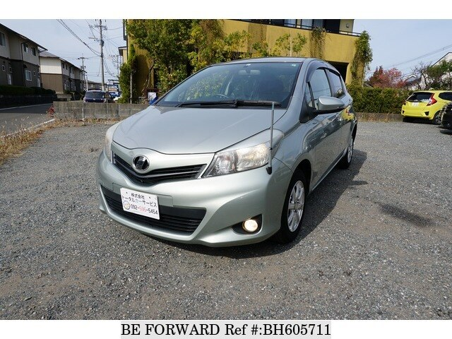 Used 2011 TOYOTA VITZ BH605711 for Sale