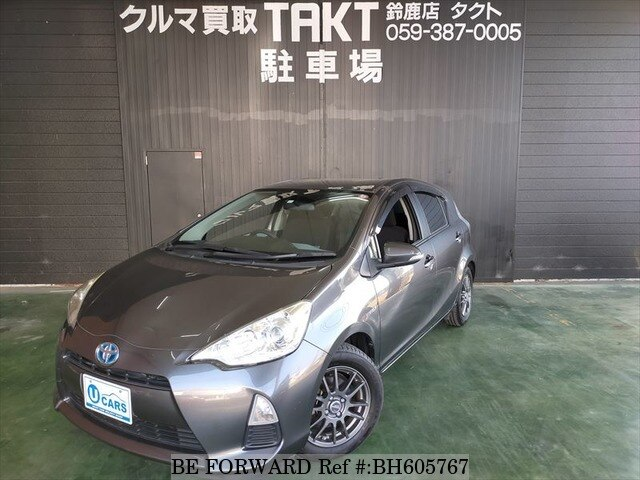 Used 2012 TOYOTA AQUA BH605767 for Sale