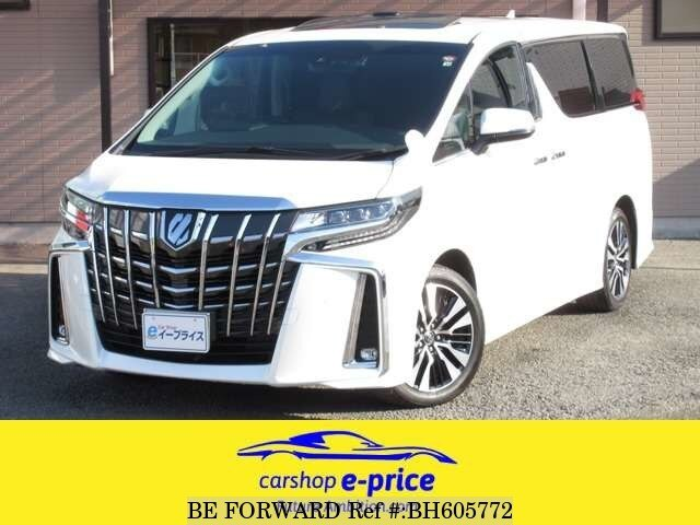 Used 2018 TOYOTA ALPHARD BH605772 for Sale