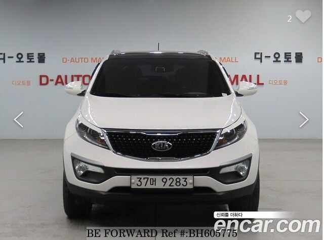 Used 2012 KIA SPORTAGE BH605775 for Sale