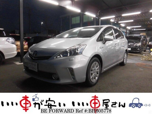 Used 2011 TOYOTA PRIUS ALPHA BH605778 for Sale